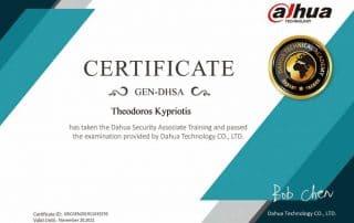 dahua certification GEN-DHSA